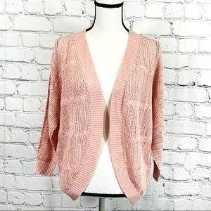 BB Dakota Crochet Knit Cardigan